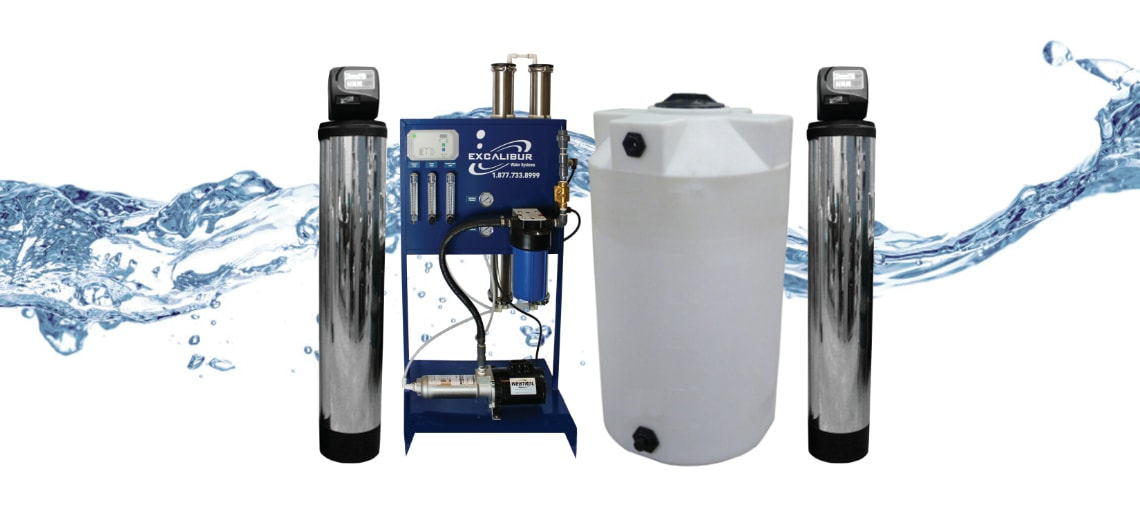 Excalibur Whole Home Nanofiltration System